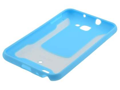 COCASES Dual-Design Case plus Screen Protector for Samsung Galaxy Note - Sky Blue/Clear