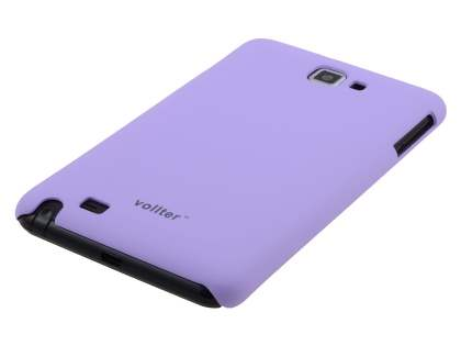Vollter Samsung Galaxy Note Ultra Slim Rubberised Case - Light Purple