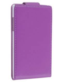 LG Prada 3.0 Synthetic Leather Flip Case - Purple