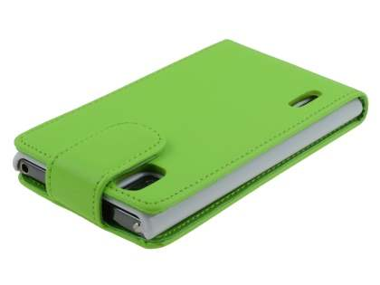 LG Prada 3.0 Synthetic Leather Flip Case - Green