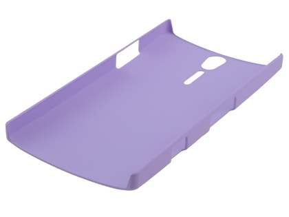 Vollter Sony Xperia S Ultra Slim Rubberised Case - Light Purple
