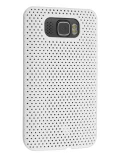 Slim Mesh Case for HTC Touch HD2 - White Hard Case