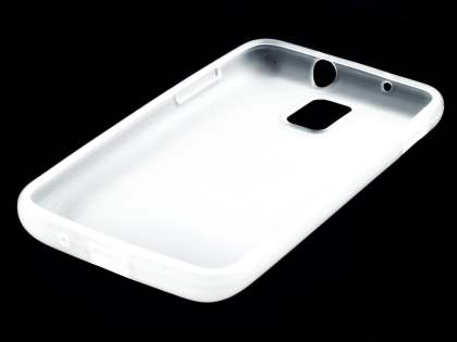 Samsung I9210T Galaxy S II 4G TPU Gel Case - Frosted Clear
