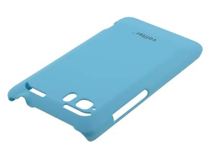 Vollter HTC Velocity 4G Ultra Slim Rubberised Case plus Screen Protector - Sky Blue