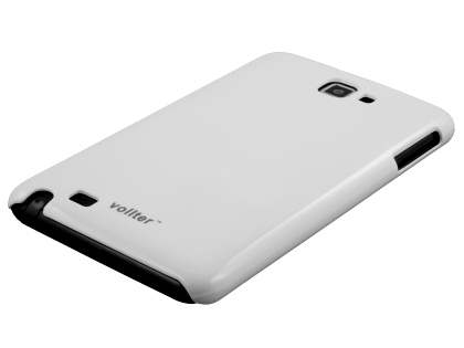 Vollter Ultra Slim Glossy Case for Samsung Galaxy Note - Pearl White