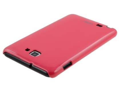 Vollter Ultra Slim Glossy Case for Samsung Galaxy Note - Amaranth Red