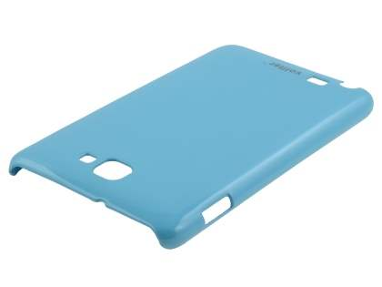 Vollter Ultra Slim Glossy Case plus Screen Protector for Samsung Galaxy Note - Sky Blue