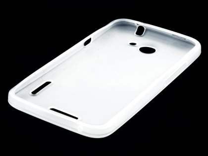 HTC One X / XL / X+ TPU Gel Case - Frosted Clear