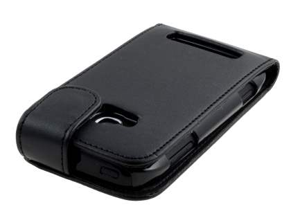 Nokia Lumia 710 Synthetic Leather Flip Case - Black