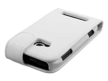 Nokia Lumia 710 Synthetic Leather Flip Case - White