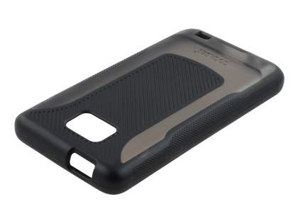 COCASES Dual-Design Case for Samsung I9100 Galaxy S2 - Black/Grey