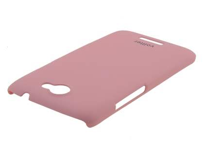 Vollter HTC One X / XL / X+ Ultra Slim Rubberised Case plus Screen Protector - Baby Pink