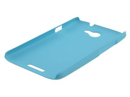 Vollter HTC One X / XL / X+ Ultra Slim Rubberised Case plus Screen Protector - Sky Blue