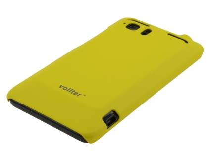 Vollter HTC Velocity 4G Ultra Slim Rubberised Case - Canary Yellow