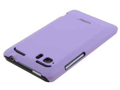 Vollter HTC Velocity 4G Ultra Slim Rubberised Case plus Screen Protector - Lavender Purple