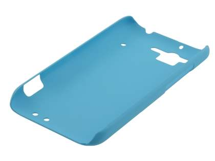 Vollter HTC Rhyme Ultra Slim Rubberised Case plus Screen Protector - Sky Blue