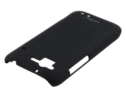 Vollter HTC Rhyme Ultra Slim Rubberised Case plus Screen Protector - Classic Black