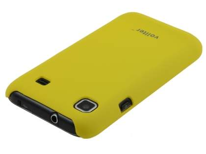 Vollter Samsung I9000 Galaxy S Ultra Slim Rubberised Case - Canary Yellow