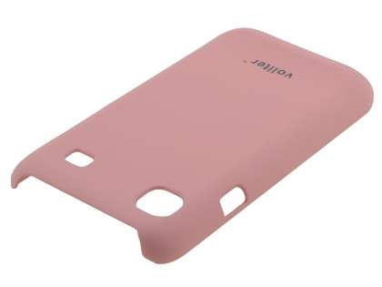 Vollter Samsung I9000 Galaxy S Ultra Slim Rubberised Case plus Screen Protector - Baby Pink