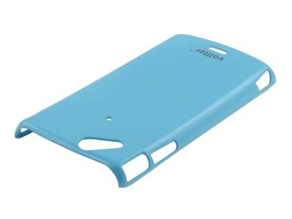 Vollter Ultra Slim Glossy Case plus Screen Protector for Sony Ericsson XPERIA Arc/Arc S - Sky Blue