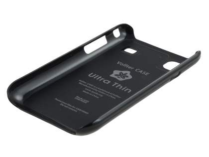 Vollter Ultra Slim Glossy Case for Samsung I9000 Galaxy S - Classic Black