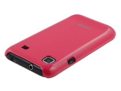 Vollter Ultra Slim Glossy Case for Samsung I9000 Galaxy S - Amaranth Red