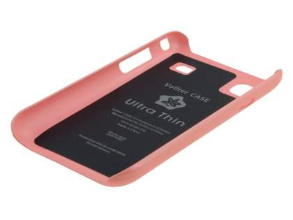 Vollter Ultra Slim Glossy Case plus Screen Protector for Samsung I9000 Galaxy S - Baby Pink