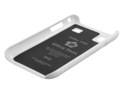 Vollter Ultra Slim Glossy Case for Samsung I9000 Galaxy S - Pearl White