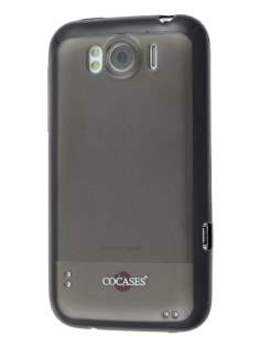 COCASES Dual-Design Case for HTC Sensation XL - Black/Grey