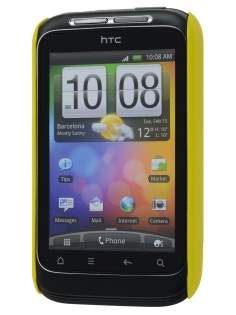 Vollter Ultra Slim Glossy Case for HTC Wildfire S - Canary Yellow