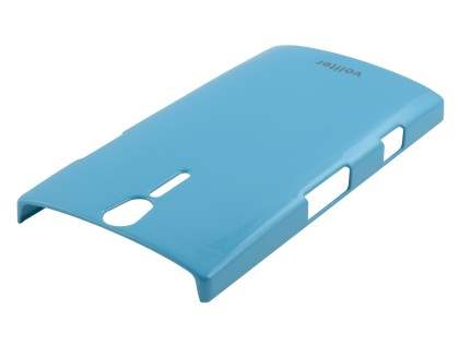 Vollter Ultra Slim Glossy Case for Sony Xperia S - Sky Blue