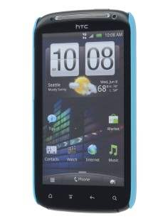 Vollter Ultra Slim Glossy Case plus Screen Protector for HTC Sensation - Sky Blue