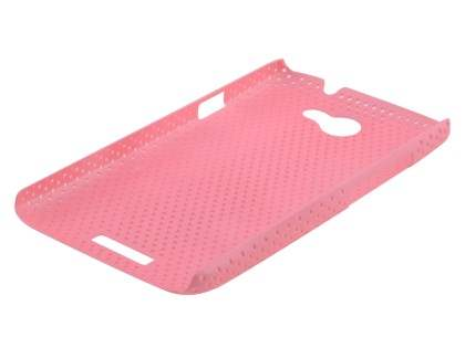 HTC One X / XL / X+ Slim Mesh Case - Baby Pink