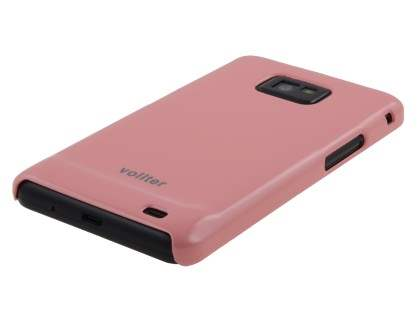 Vollter Ultra Slim Glossy Case for Samsung I9100 Galaxy S2 - Baby Pink