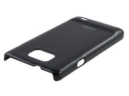 Vollter Ultra Slim Glossy Case plus Screen Protector for Samsung I9100 Galaxy S2 - Classic Black