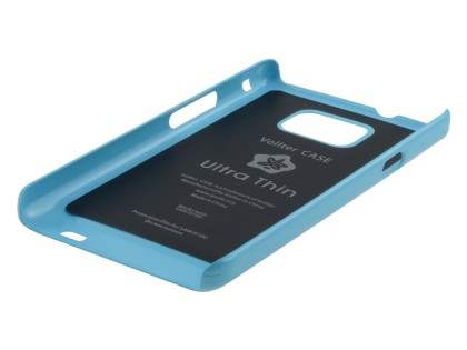 Vollter Ultra Slim Glossy Case plus Screen Protector for Samsung I9100 Galaxy S2 - Sky Blue