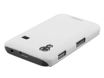 Vollter Samsung Galaxy Ace S5830 Ultra Slim Rubberised Case - Pearl White
