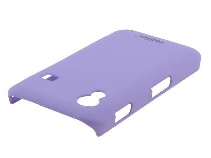 Vollter Samsung Galaxy Ace S5830 Ultra Slim Rubberised Case plus Screen Protector - Light Purple