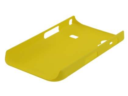 Vollter Samsung Galaxy Ace S5830 Ultra Slim Rubberised Case - Canary Yellow
