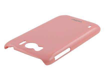 Vollter Ultra Slim Glossy Case plus Screen Protector for HTC Sensation XL - Baby Pink