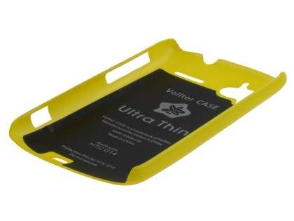 Vollter Ultra Slim Glossy Case for HTC Sensation - Canary Yellow