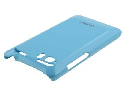 Vollter Ultra Slim Glossy Case plus Screen Protector for HTC Velocity 4G - Sky Blue