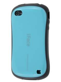 iPhone 4 iFace Dual-Design Case - Aqua/Black Dual-Design Case