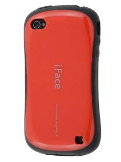 iPhone 4 iFace Dual-Design Case - Red/Black Dual-Design Case