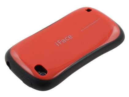 iPhone 4 iFace Dual-Design Case - Red/Black