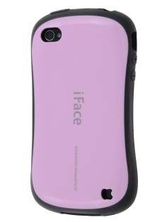 iPhone 4 iFace Dual-Design Case - Pink/Black Dual-Design Case