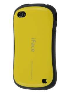 iPhone 4 iFace Dual-Design Case - Yellow/Black