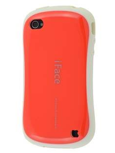 iPhone 4 iFace Dual-Design Case - Red/White Dual-Design Case