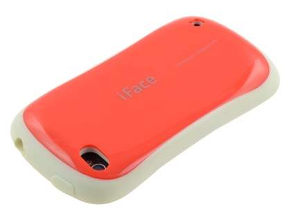 iPhone 4 iFace Dual-Design Case - Red/White