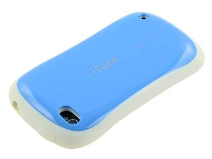 iPhone 4 iFace Dual-Design Case - Blue/White
